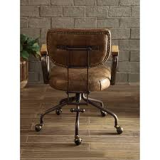 Image Ideas Shop Acme Hallie Executive Office Chair Vintage Whiskey Top Grain Leather Free Shipping Today Overstockcom 19398757 Overstock Shop Acme Hallie Executive Office Chair Vintage Whiskey Top Grain