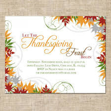 printable thanksgiving greeting cards thanksgiving creative thanksgiving party invitations wording ideas