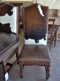 rustic leather dining chairs. IN LOOOOOVE WITH THESE CHAIRS! Cowhide, Dining Chair, Nailhead Cowhide Rustic Leather Chairs