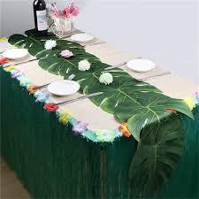 Home Décor <b>5</b> X <b>Artificial</b> Silver <b>Palm Leaves</b> Wedding Party.Home ...