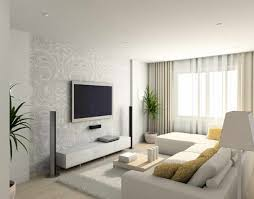 White Modern Living Room Tv Modern Living Room Design - Living room furniture white