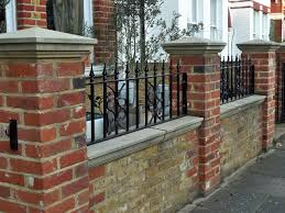 Small Picture Images About Brick Fence On Pinterest Jasmine Yard Ideas