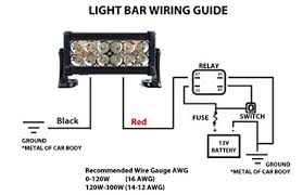 amazon com 36w 7 inch led light bar light rail spot flood 4x4 off Cree Led Light Bar Wiring Diagram amazon com 36w 7 inch led light bar light rail spot flood 4x4 off road baja trucks auxiliary ip68 (black housing) automotive wiring diagram for cree led light bar
