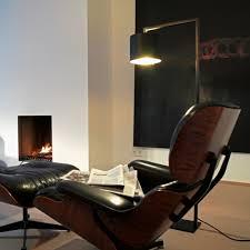 office lamp. Anta Afra Floor Lamp Black Inside Gold Office