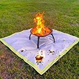 The Best Fire Pit Deck Protector Of 2021 Reviewed And Top Rated