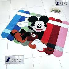 minnie mouse rug bedroom area awesome children room rugs mickey carpet cartoon and r
