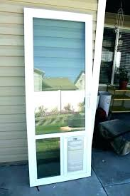 doors with built in dog door exterior large for sliding glass replacement flaps french patio bu