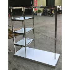 T Shirt Stand Display OJ100 China modern style t shirt display stands Manufacturer 98