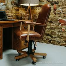 admiral leather office chair