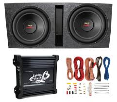 car subwoofer wiring kit solidfonts amp wiring diagram car audio dual 12 inch vented subwoofer enclosure stereo speaker