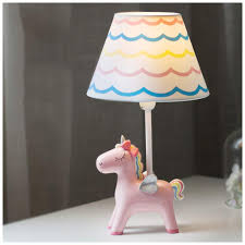 Amazoncom Yyf Unicorn Bedroom Bedside Lamp Childrens Room Warm