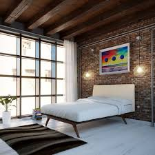 modern bedroom black. Bedroom : Black Steel Frame Bed Style Wall Mounted Square Wooden Double Nightstands Yellow Eames Modern