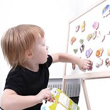 24 pcs cute animals fridge magnets for kids toddler magnetic board with letters and numbers magnet