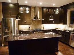 What Color To Paint Kitchen With Dark Cabinets Best Inspiration Ideas