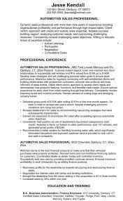 Bistrun Car Sales Resume Resumes Sample Skillsuto Description