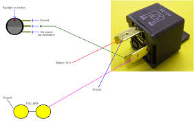 fog lamp relay lighting and ceiling fans wiring driving lights to high beam at Fog Light Relay Wiring Diagram