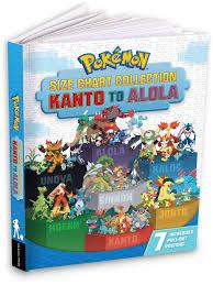 Pokémon Size Chart Collection: Kanto to Alola : Pikachu Press: Amazon.de:  Bücher