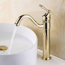 bathroom sink faucets vessel retro gold vessel heightening brass bathroom sink faucet