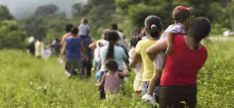 Caravana de emigrantes