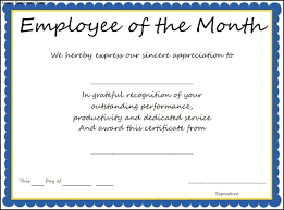 award certificate template word example xianning award certificate template word example certificate templates employee of the month resume word for good