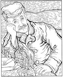 Small Picture Kids n funcom 30 coloring pages of Vincent van Gogh