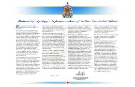mr r papa statement of apology residential schools png