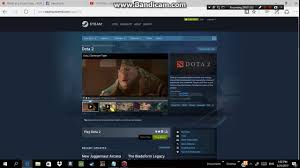 how to download dota 2 in steam youtube