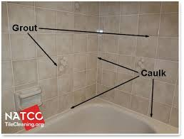 Grouting wall tile Grey Grout Shower With Grout And Caulk In It Natco The North American Tile Cleaning Organization Where Should Grout And Caulk Be Installed In Tile Shower