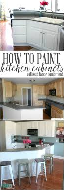 Kitchen Cabinets Depth Paint Kitchen Cabinets Without Fancy Equipment