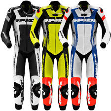 Spidi Warrior Wind Pro One Piece Motorcycle Leather Suit