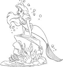 Small Picture Ariel Little Mermaid Coloring Book Coloring Pages
