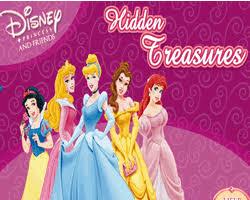 disney princess and friends hidden treres