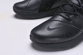 nike air max 270 premium leather all black ao8283 010 men s running shoes sneakers