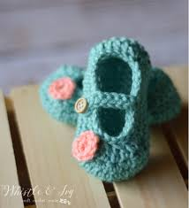 Crochet Baby Shoes Pattern Beauteous 48 Cutest Free Crochet Baby Bootie Patterns