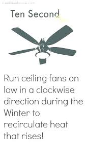 ceiling fan direction for summer post hunter ceiling fan direction summer winter