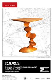 "Source Guild of Vermont Furniture Makers"" show at Helen Day Art"