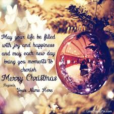 Christmas Quotes About Love Fascinating Write Name On Wishing You Merry Christmas Quotes Picture