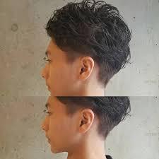 くせ毛天パを生かした男女別の髪型28選ヘアセットのメンズワックスも