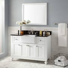 a front bathroom vanity bathrooms design small double farmhouse sink faucet farm ceramic stainless drop in
