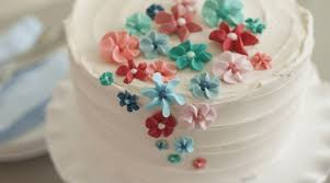 Simple Cake Decorating Icing Flowers Flisol Home