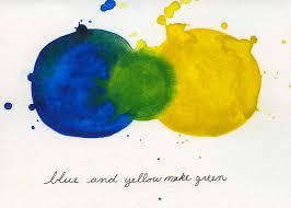 Yellow Blue Green Raising Sophia Gracefully Blue And Yellow Make Green