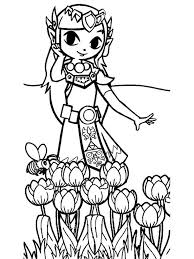 This template is an easy way to apply colors to text. Zelda Coloring Pages Free Printable Zelda Coloring Pages