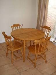 round wood kitchen table harmville with regard to small wooden table and chairs renovation