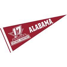 banners co alabama crimson tide 2017