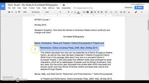 Mla Formatting How To Annotated Bibliography Youtube Example 8 Pdf