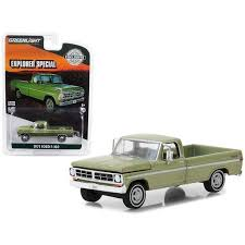 1971 F-100 Explorer Special Long Bed Pickup Truck Lime Gold Metallic ...