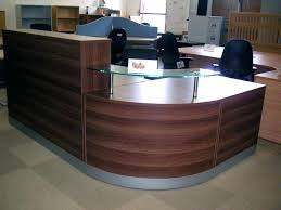 office furniture reception desk counter. Office Furniture Reception Desks Used Rh  Philbell Me Desk Curved Counter