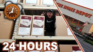 Small Picture TRIPPLE DECKER 24 HOUR FORT CHALLENGE AT HOME DEPOT ALMOST