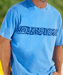 hawaiian tee shirt mens thermal shirts tuff duds