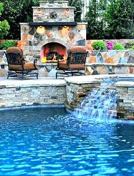 inground pools with waterfalls. Inground Pool Waterfalls With Waterfall Best Ideas On . Pools F